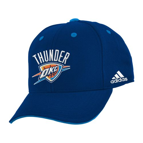 adidas™ Boys' Oklahoma City Thunder Basic Structured Adjustable Cap