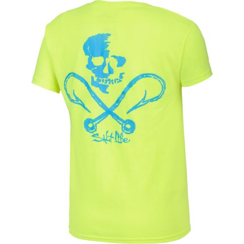 Salt Life™ Boys' Skull and Hooks T-shirt