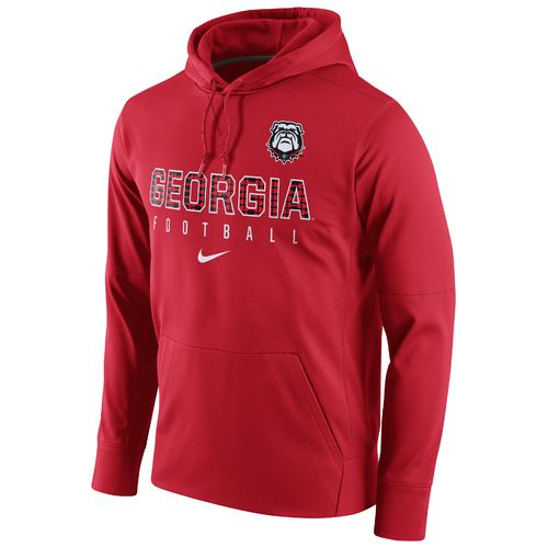 Nike Men's University of Georgia Circuit Perf Pullover Hoodie