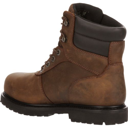 Wolverine Men's Iron Ridge Steel Toe Work Boots - view number 3