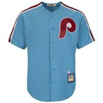 Majestic Men's Philadelphia Phillies Sparky Anderson #45 Cooperstown Cool Base 1980 Replica Jers - view number 2