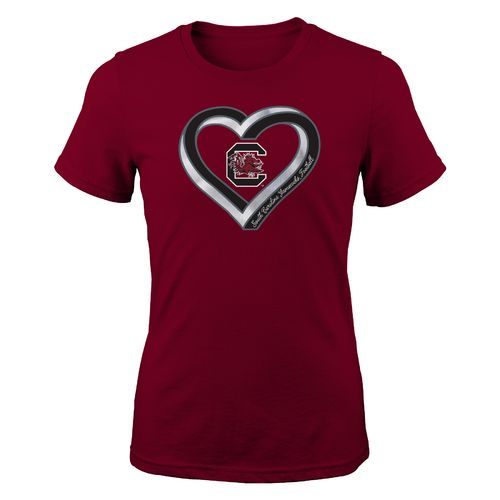 Gen2 Girls' University of South Infinite Heart Fashion Fit T-shirt