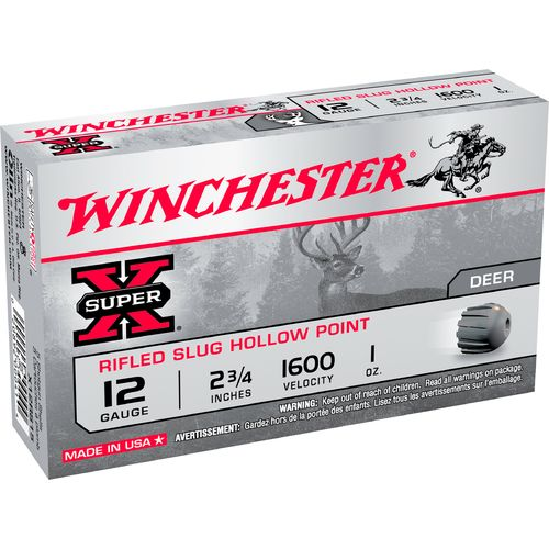 Winchester Smooth Bore 12 Gauge Rifled Slugs