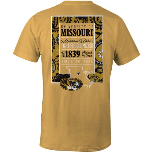 Image One Women's University of Missouri Comfort Color T-shirt