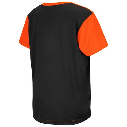 Colosseum Athletics™ Boys' Oklahoma State University Short Sleeve T-shirt - view number 2