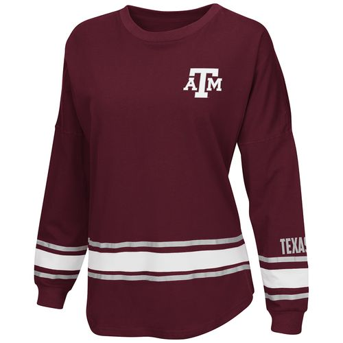 Colosseum Athletics™ Women's Texas A&M University All Around Oversize Long Sleeve T-shirt