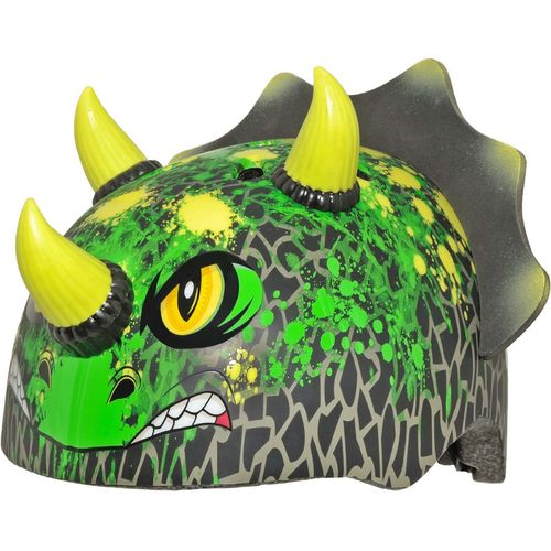 Raskullz Toddlers' T-Chopz Triceratops Bicycle Helmet