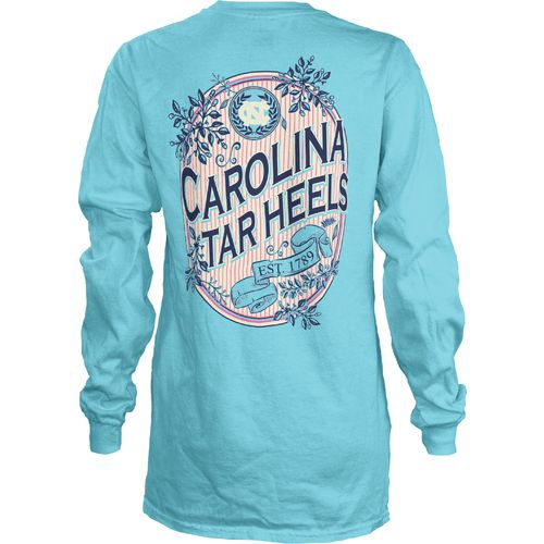 Three Squared Juniors' University of North Carolina Maya Long Sleeve T-shirt