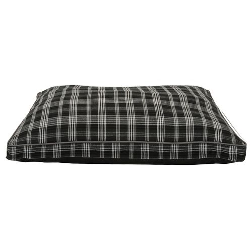Dallas Manufacturing Company 30 in x 40 in Plaid Gusseted Pet Bed