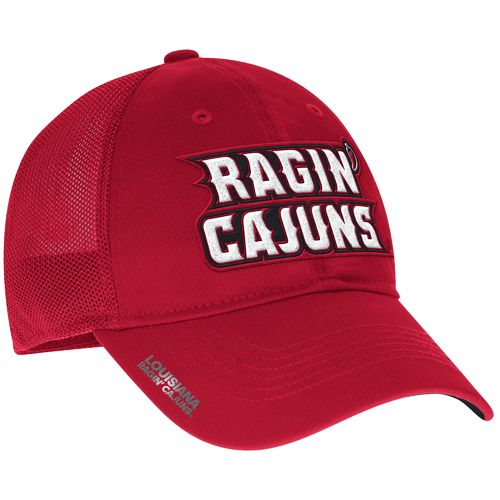 adidas™ Men's University of Louisiana at Lafayette Coach Flex Meshback Slope Cap