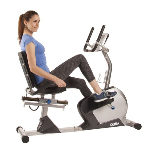 display product reviews for body champ magnetic recumbent exercise bike
