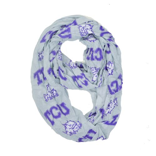 ZooZatz Women's Texas Christian University Infinity Scarf