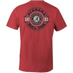 Image One Men's University of Alabama Rounds Comfort Color Short Sleeve T-shirt