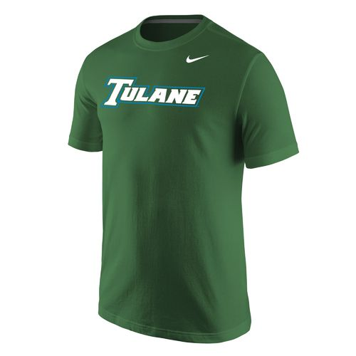 Nike™ Men's Tulane University Wordmark T-shirt