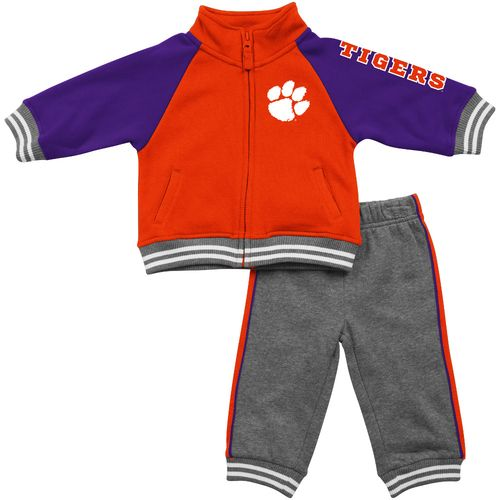 Colosseum Athletics™ Infants'/Toddlers' Clemson University Aviator Fleece Jacket