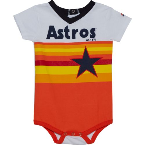 Majestic Infants' Houston Astros Cooperstown Jersey Short Sleeve