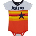 Majestic Infants' Houston Astros Cooperstown Jersey Short Sleeve Onesie