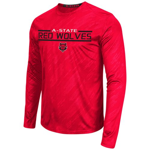 Colosseum Athletics™ Men's Arkansas State University Sleet Embossed Long Sleeve T-shirt