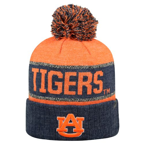 Top of the World Men's Auburn University Below Zero Cuffed Knit Cap