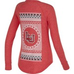 Chicka-d Women's Lamar University Favorite V-neck Long Sleeve T-shirt