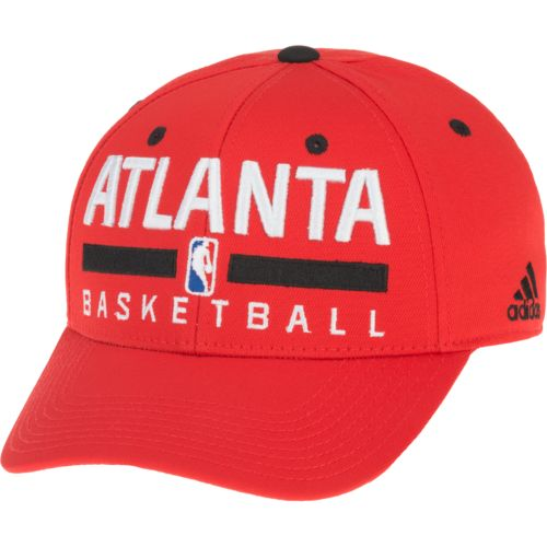 adidas Men's Atlanta Hawks Practice Structured Flex Cap
