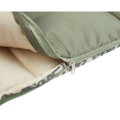 Magellan Outdoors Kids' Digital Camo Rectangle Sleeping Bag - view number 2