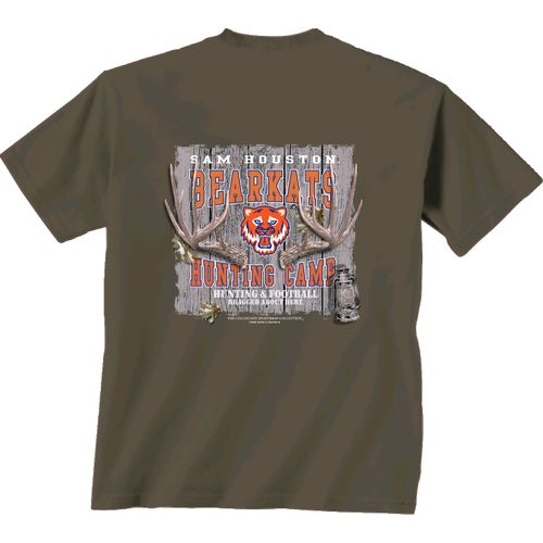 New World Graphics Men's Sam Houston State University Hunting Camp T-shirt