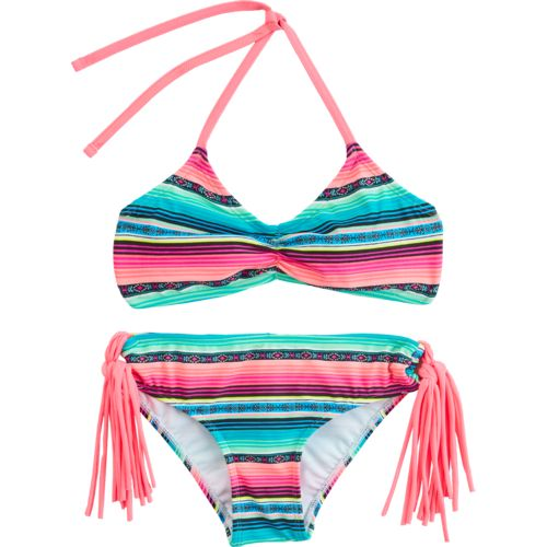 O'Rageous Kids Girls' Rosarita Blanket Bikini Swimsuit