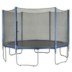 Upper Bounce® 6-Pole Trampoline Enclosure Set for 7.5' Round Frames with 3 or 6 W-Shape Leg - view number 5