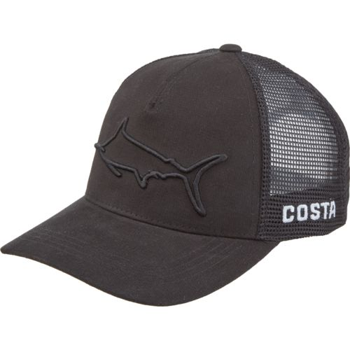 Display product reviews for Costa Del Mar Men's Stealth Marlin Trucker Hat