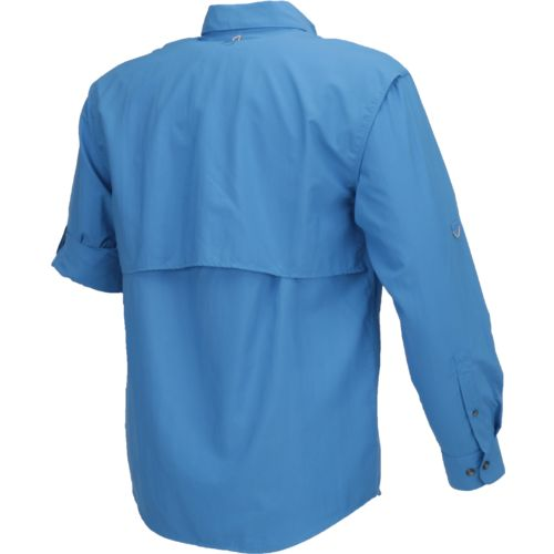 Magellan Outdoors Men's Laguna Madre Solid Long Sleeve Fishing Shirt - view number 2