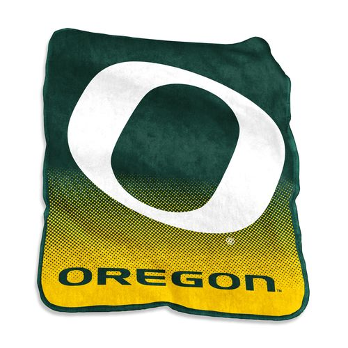 Logo University of Oregon 50 in x 60 in Raschel Throw