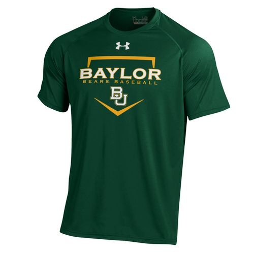 Under Armour Men's Baylor University Tech T-shirt