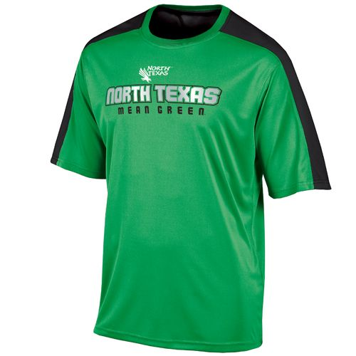 Champion™ Men's University of North Texas Colorblock T-shirt