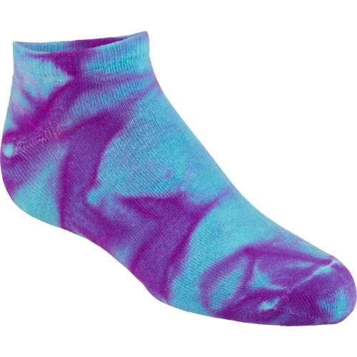 BCG Women's True Bright Tie-Dye Fashion Socks 6 Pairs