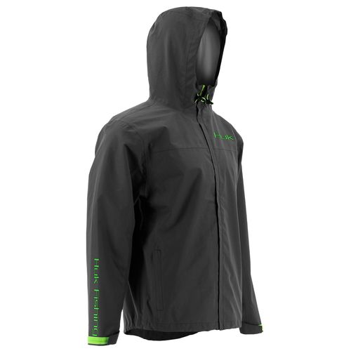 Display product reviews for Huk Men's Packable Rain Jacket