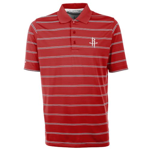 Antigua Men's Houston Rockets Deluxe Polo Shirt