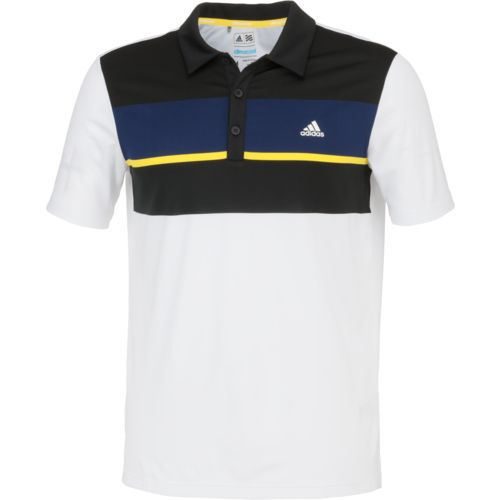 adidas™ Men's climacool® Chest Block Polo Shirt