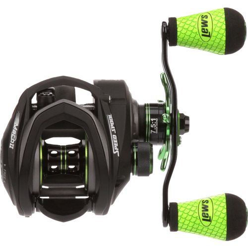 Lew's Mach 2-Speed Spool SLP MH2SH Baitcast Reel - view number 3