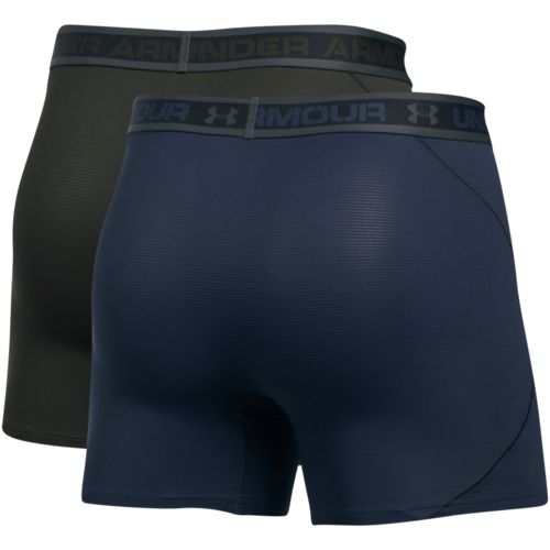 Under Armour Men's Iso-Chill Mesh 6 in Boxerjock Boxers 2-Pack - view number 2
