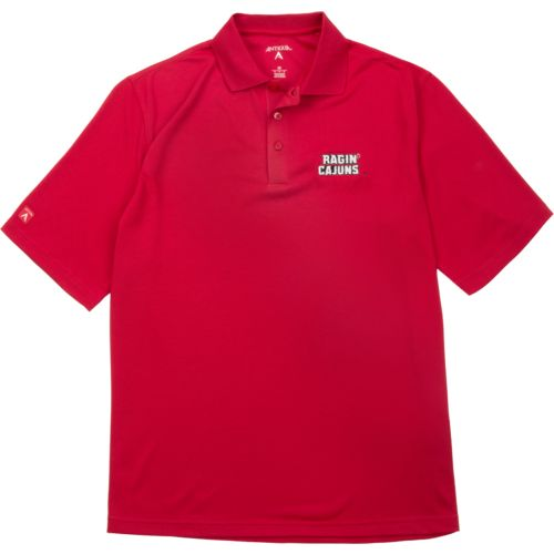 Antigua Men's University of Louisiana at Lafayette Pique Xtra-Lite Polo Shirt - view number 4