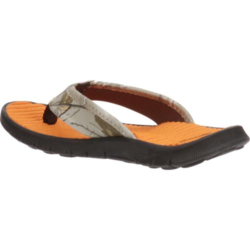 O'Rageous Boys' Realtree Thong Sandals - view number 3