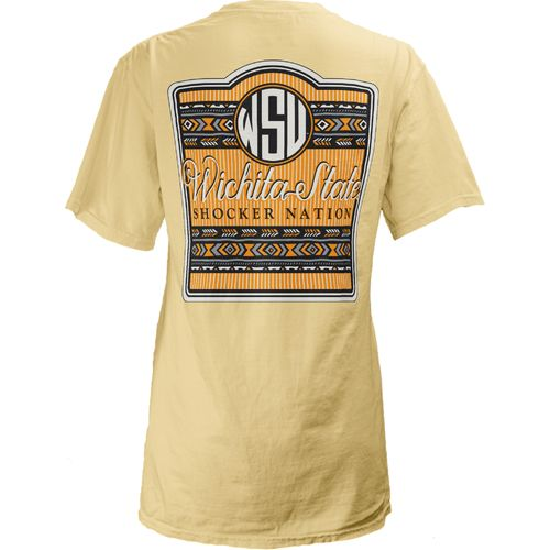 Three Squared Juniors' Wichita State University Baylee V-neck T-shirt