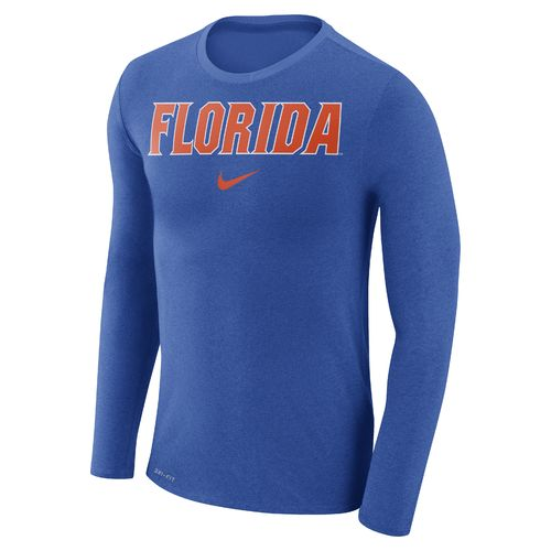 Nike Men's University of Florida Dry Marled Long Sleeve T-shirt