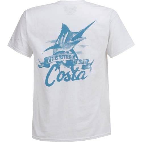 Costa Del Mar Men's Azores Short Sleeve T-shirt - view number 3