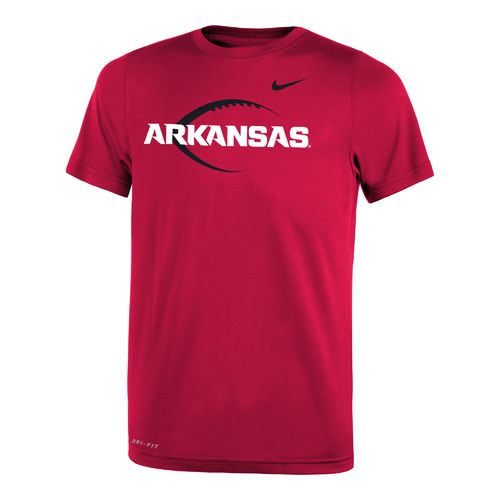 Nike Boys' University of Arkansas Legend Icon T-shirt - view number 1