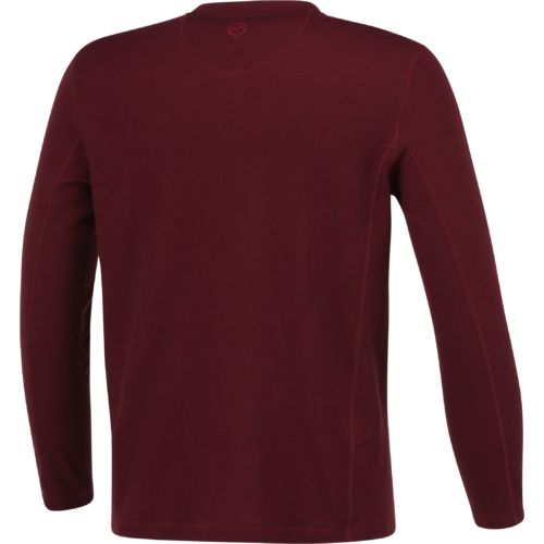 Magellan outdoors men 39 s base camp thermal long sleeve for Men s thermal henley long sleeve shirts