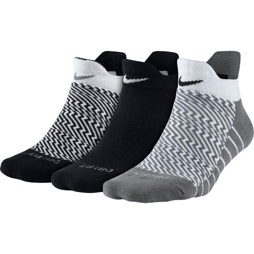Nike Women's Dri-FIT Cushioned Graphic Socks 3-Pack