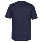 CCM Men's Nashville Predators Stitches Needed Short Sleeve Triblend T-shirt - view number 2