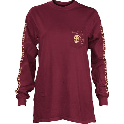 Three Squared Juniors' Florida State University Mystic Long Sleeve T-shirt